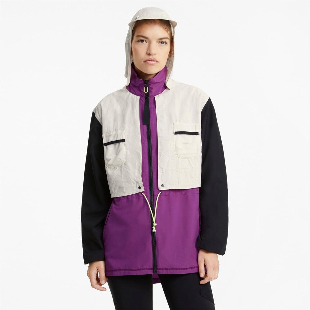 Изображение Puma Куртка PUMA x FIRST MILE Woven Women's Training Jacket #1: Byzantium-multi