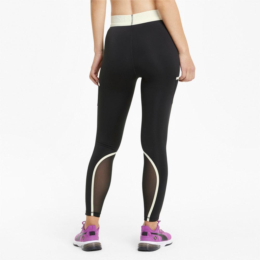 Зображення Puma Легінси PUMA x FIRST MILE 7/8 Women's Training Leggings #2: Puma Black-Eggnog