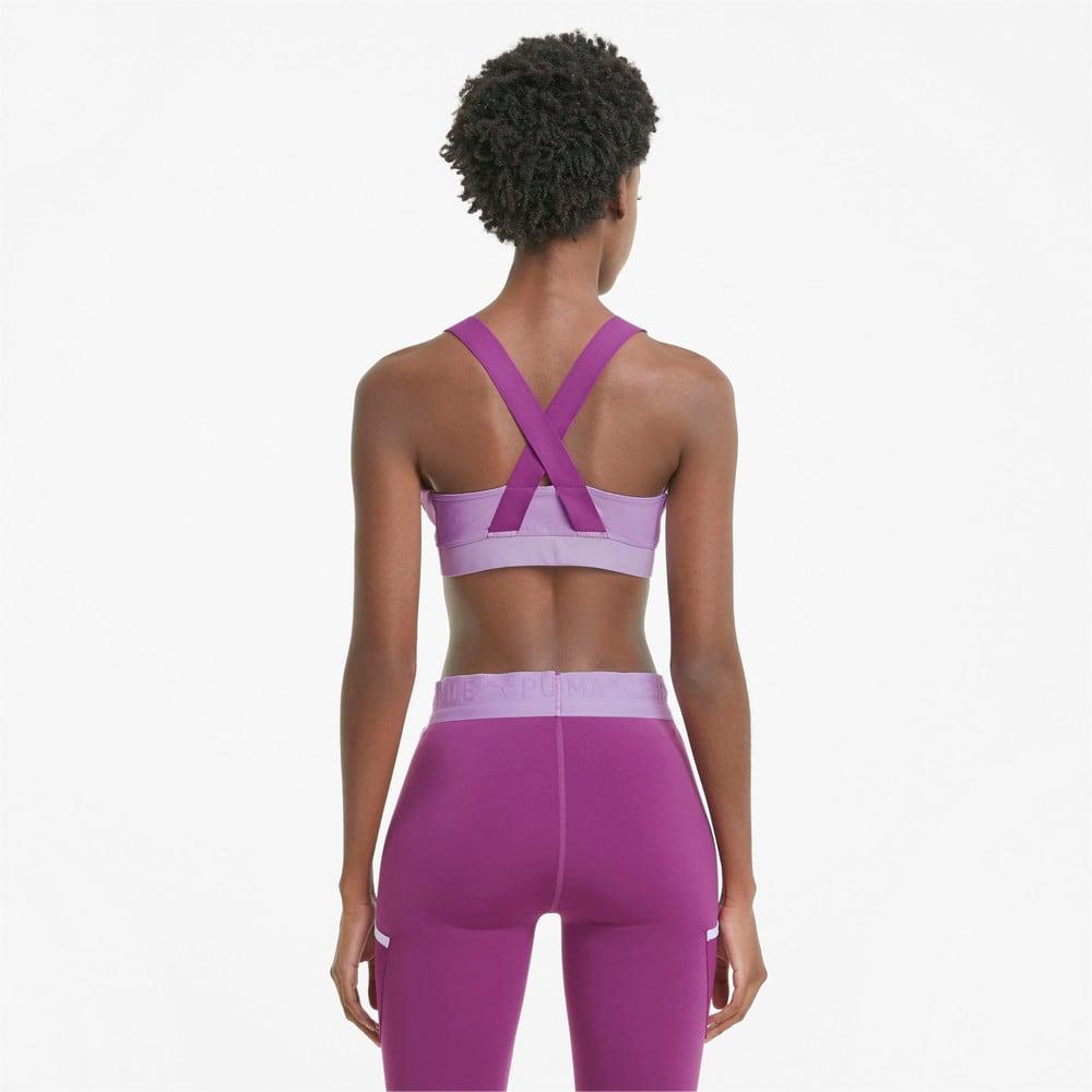 Зображення Puma Бра PUMA x FIRST MILE Mid Impact Padded Women's Training Bra #2: Light Lavender-Byzantium