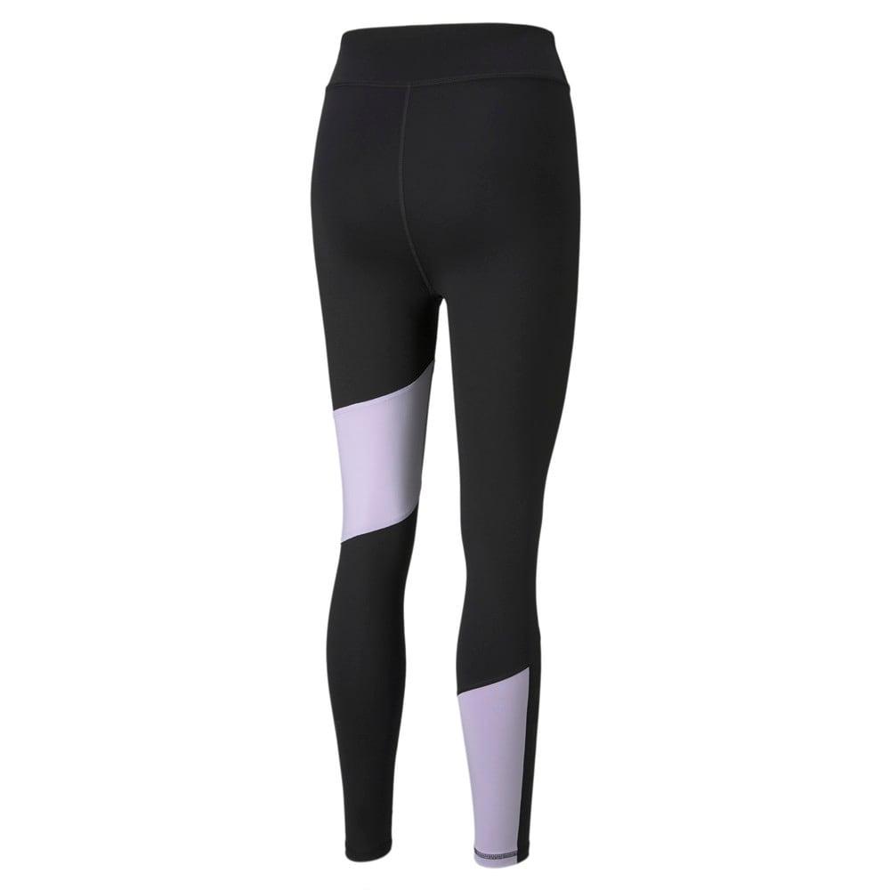 Imagen PUMA Leggings de training con logotipo, largo 7/8 y cintura alta para mujer Favourite #2