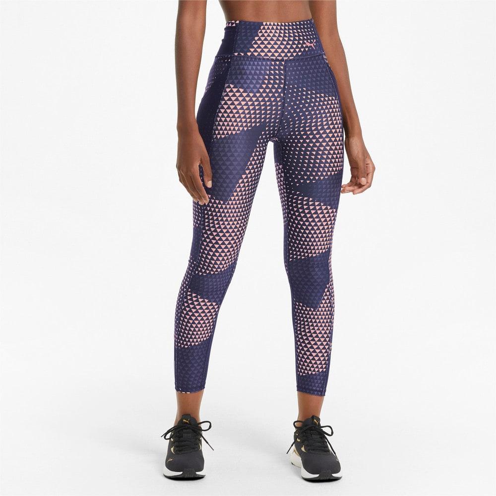 Image Puma Favourite Printed High Waist 7/8 Women's Training Leggings #1