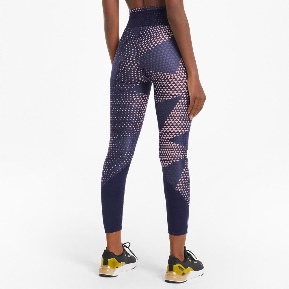 Image Puma Favourite Printed High Waist 7/8 Women's Training Leggings #2
