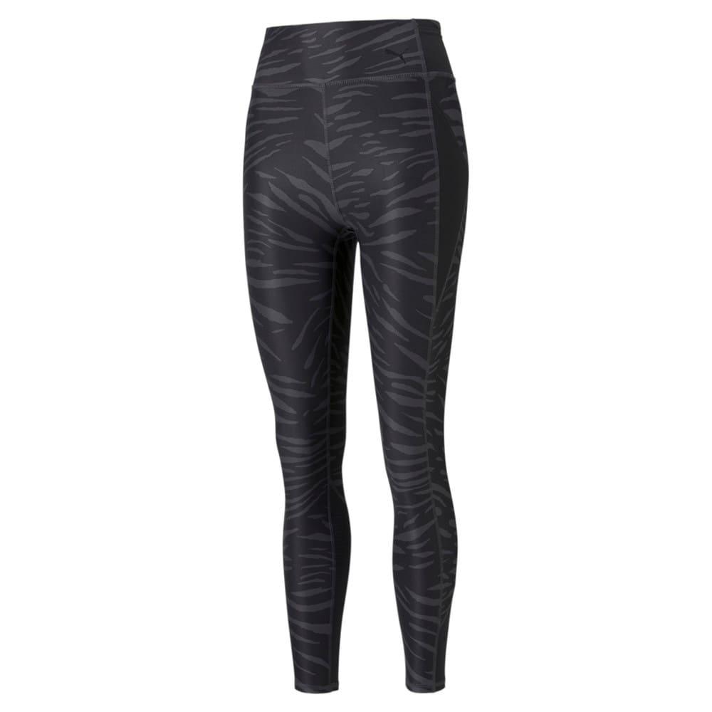 Imagen PUMA Leggings de training estampados de cintura alta y largo 7/8 para mujer Favourite #1