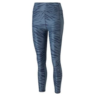 Imagen PUMA Leggings de training estampados de cintura alta y largo 7/8 para mujer Favourite