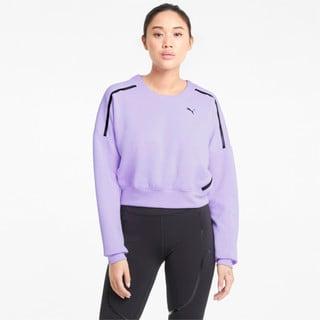Изображение Puma Толстовка Zip Crew Women's Training Sweatshirt