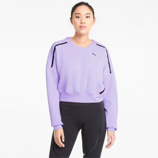 Зображення Puma Толстовка Zip Crew Women's Training Sweatshirt