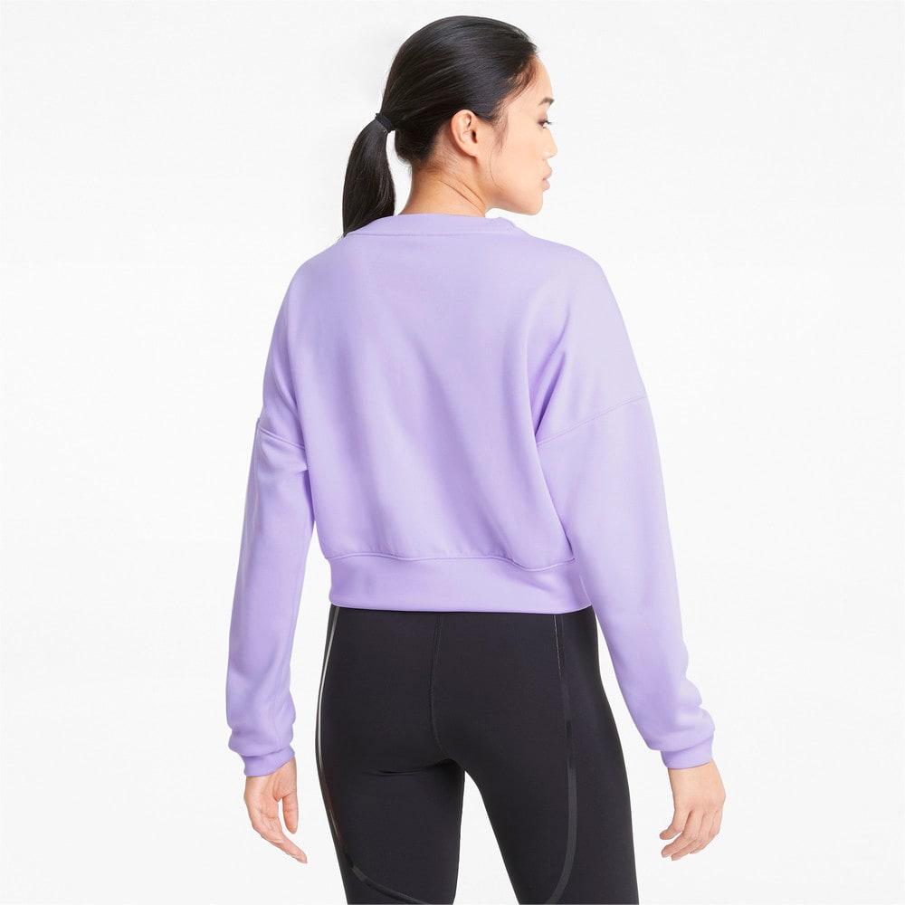 Изображение Puma Толстовка Zip Crew Women's Training Sweatshirt #2