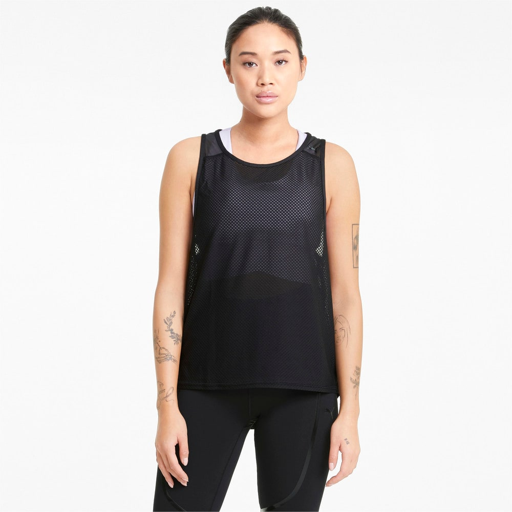 Зображення Puma Майка Mesh Women's Training Tank Top #1