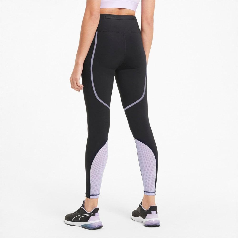 Зображення Puma Легінси Bonded High Waist Full Length Women's Training Leggings #2: Puma Black-Light Lavender
