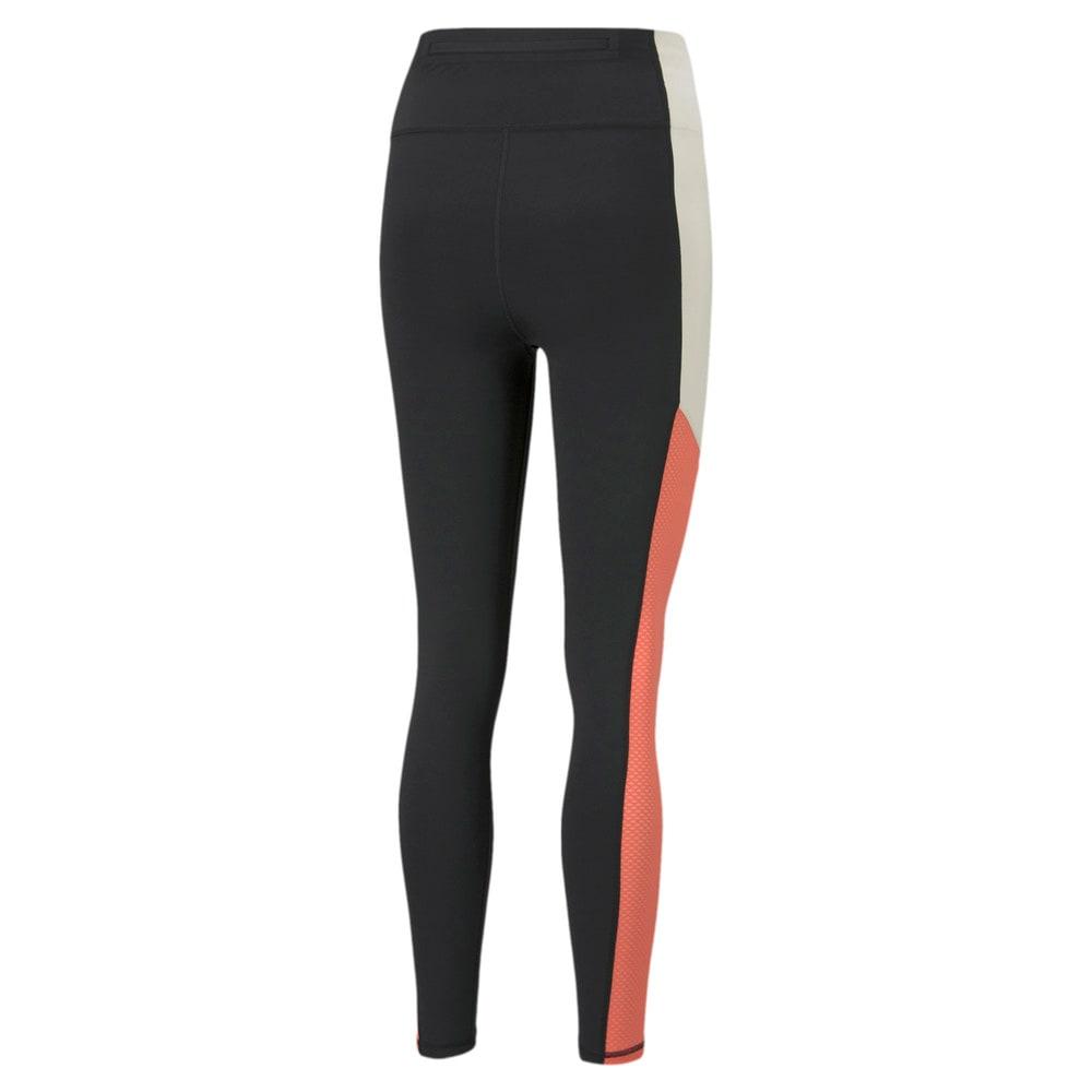 Зображення Puma Легінси Bonded Q2 Full Length Women's Training Leggings #2: Puma Black-georgia peach