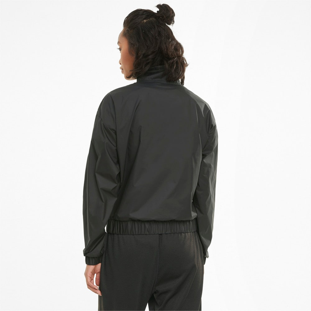 Изображение Puma Олимпийка Logo Women's Quarter-Zip Training Pullover #2