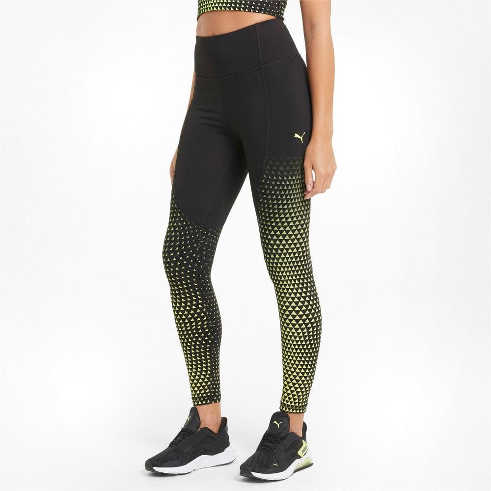 Imagen PUMA Leggings de training de largo 7/8 con cintura alta para mujer Digital #1