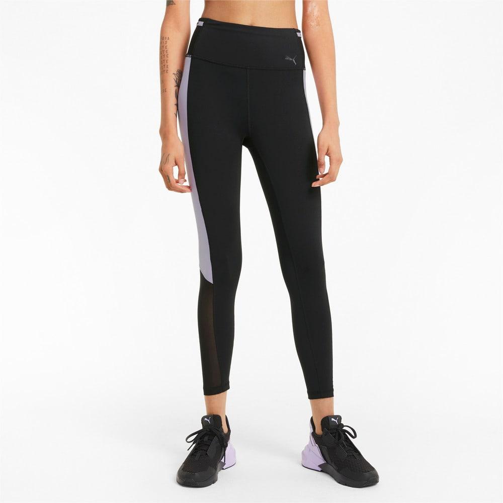 Зображення Puma Легінси Logo Block 7/8 Women's Training Leggings #1