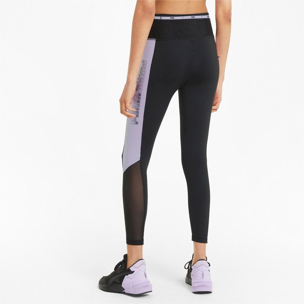Зображення Puma Легінси Logo Block 7/8 Women's Training Leggings #2