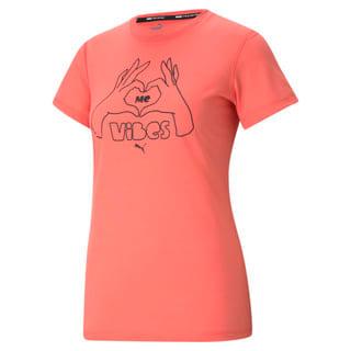 Изображение Puma Футболка Performance Slogan Short Sleeve Women's Training Tee