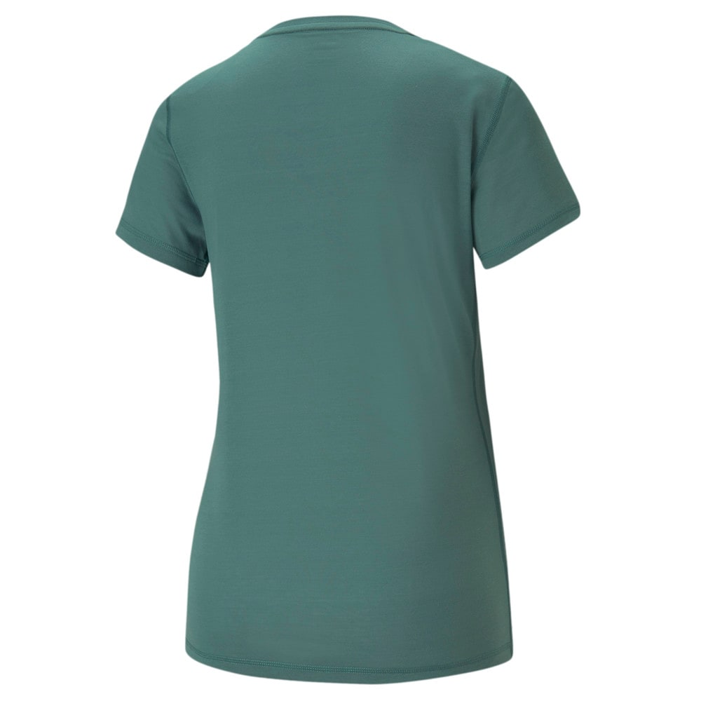 Зображення Puma Футболка Performance Slogan Short Sleeve Women's Training Tee #2: Blue Spruce