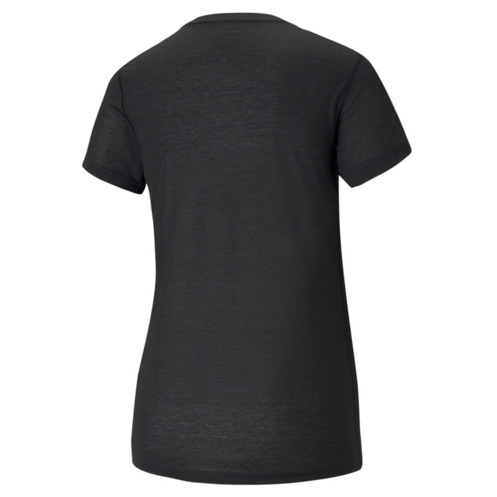 Изображение Puma Футболка Performance Slogan Short Sleeve Women's Training Tee #2: Puma Black-Do You