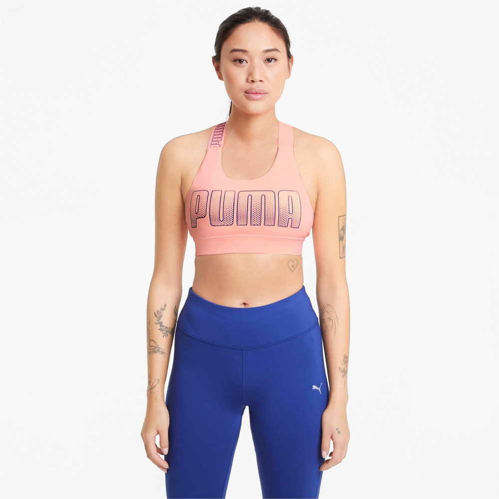 Изображение Puma Бра Mid Impact Feel It Women's Training Bra #1