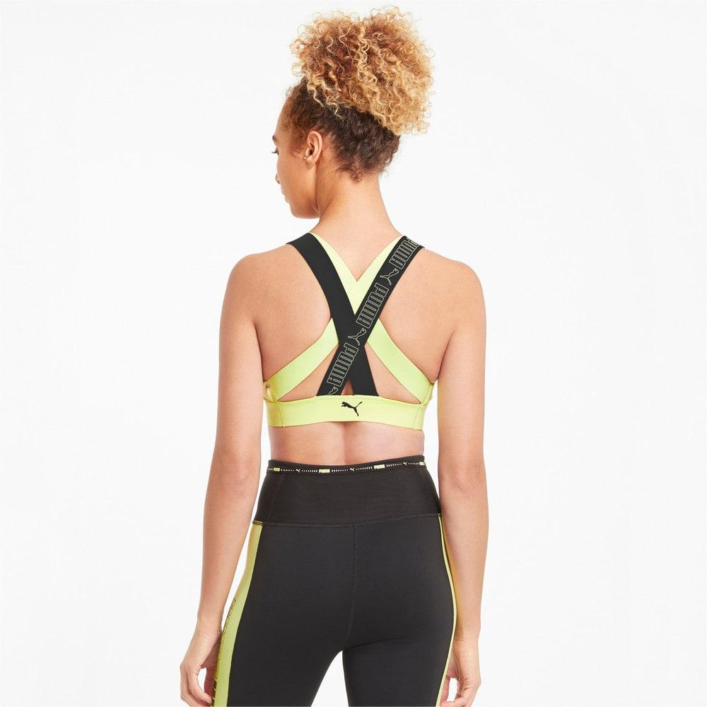 Изображение Puma Бра Mid Impact Feel It Women's Training Bra #2