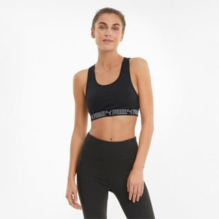 Зображення Puma Бра Mid Elastic Padded Women's Training Bra