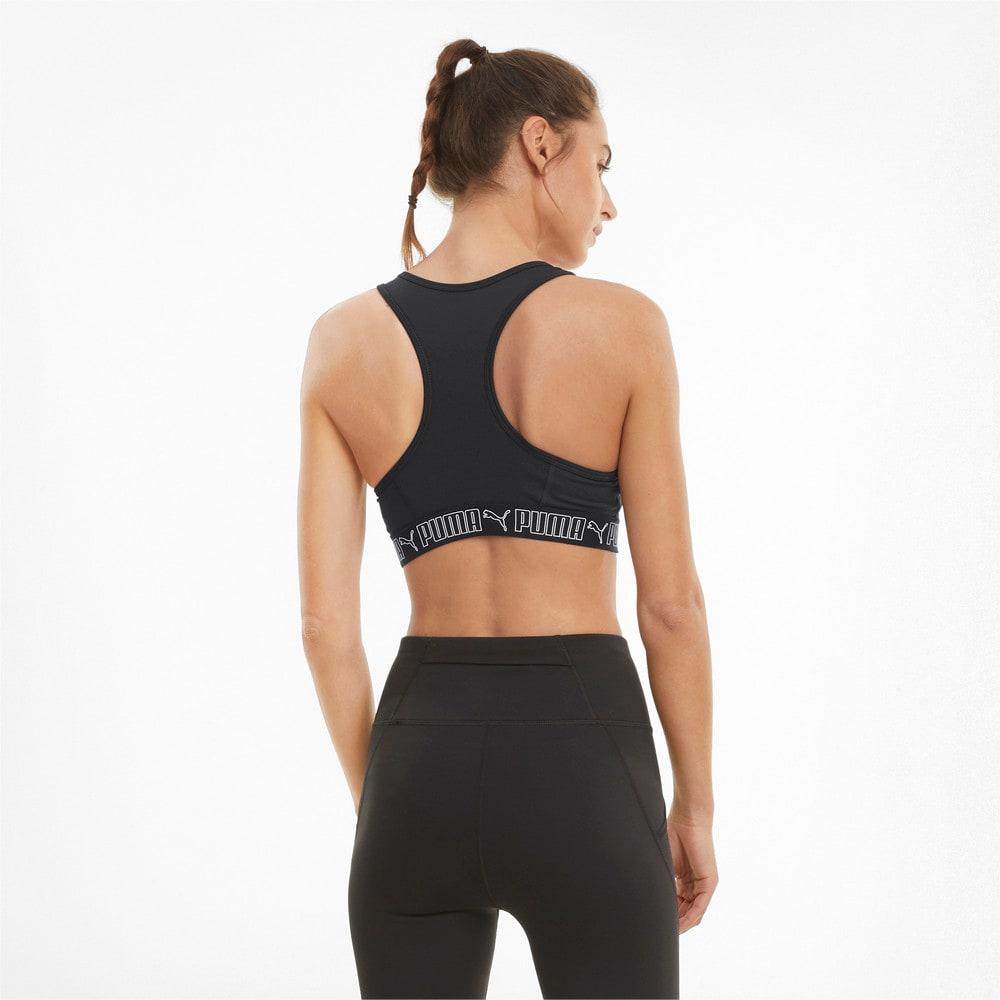 Изображение Puma Бра Mid Elastic Padded Women's Training Bra #2