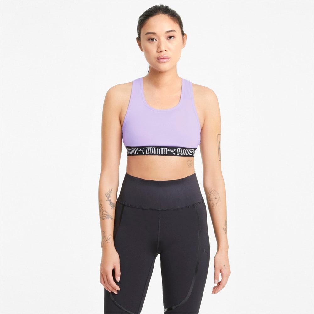 Изображение Puma Бра Mid Elastic Padded Women's Training Bra #1