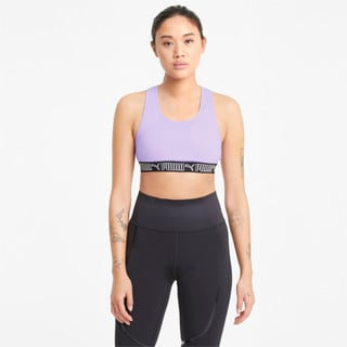 Изображение Puma Бра Mid Elastic Padded Women's Training Bra