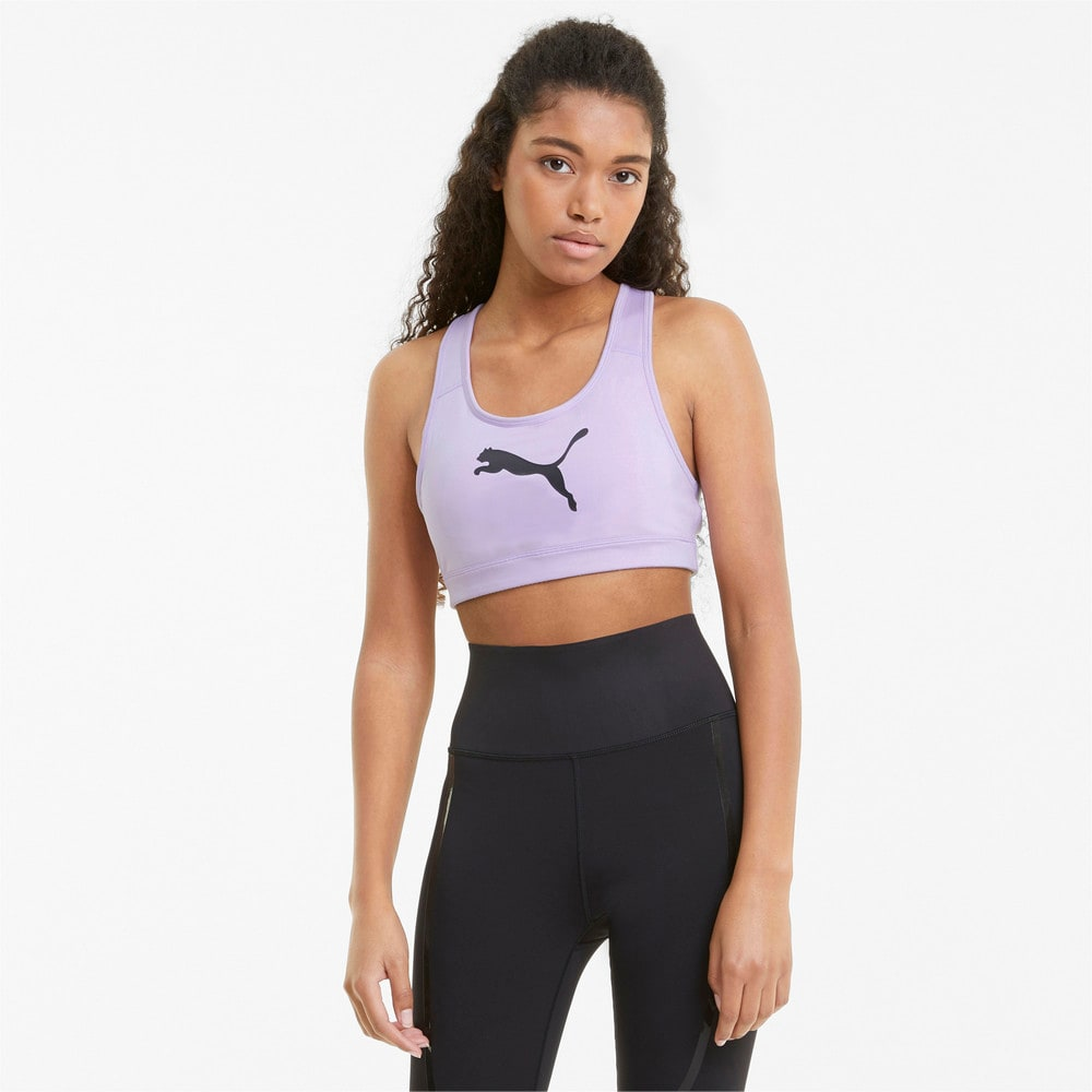 Изображение Puma Бра Mid Impact 4Keeps Women's Training Bra #1