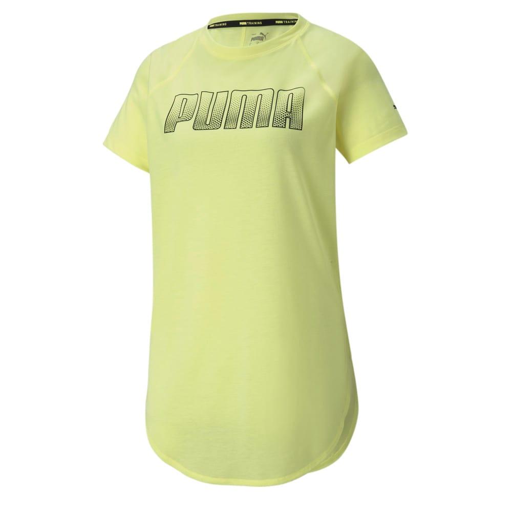 Изображение Puma Футболка Digital Logo Women's Training Tee #1