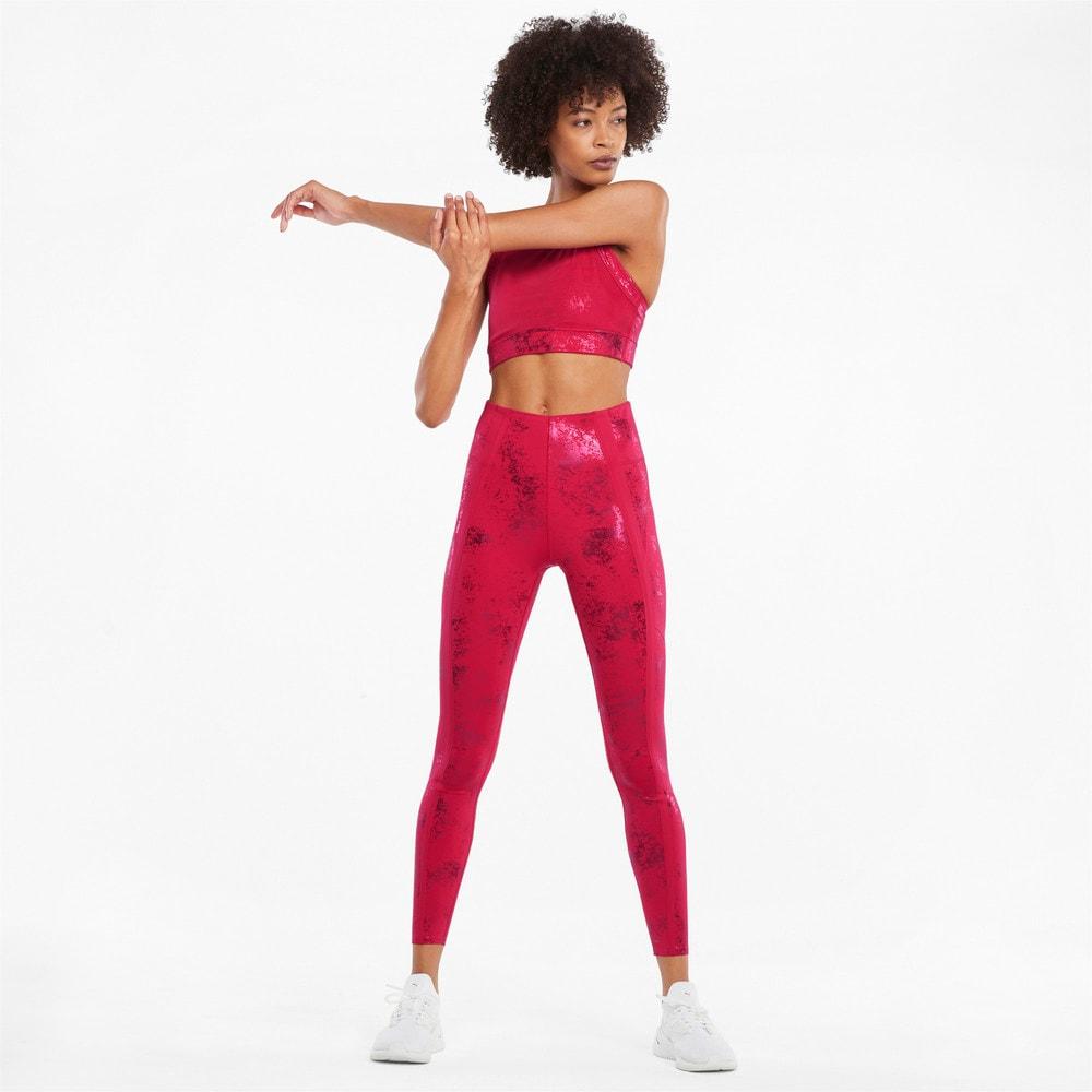 Görüntü Puma Fashion Luxe ellaVATE Kadın Antrenman Spor Sütyeni #2