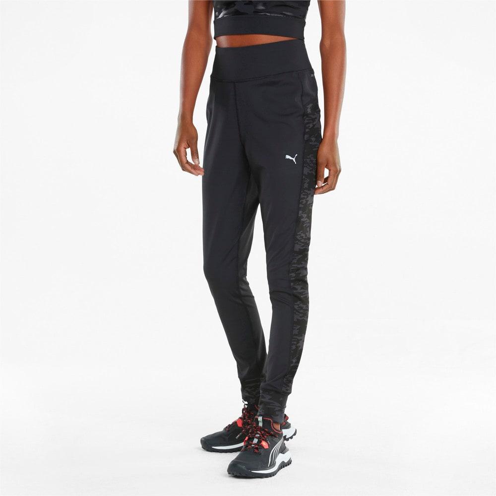 Зображення Puma Штани Knitted Women's Running Joggers #1: Puma Black
