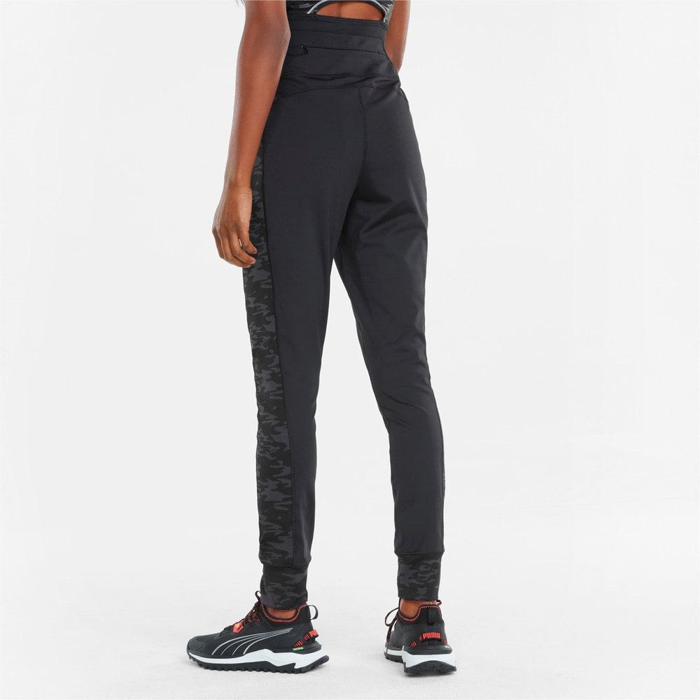 Зображення Puma Штани Knitted Women's Running Joggers #2: Puma Black