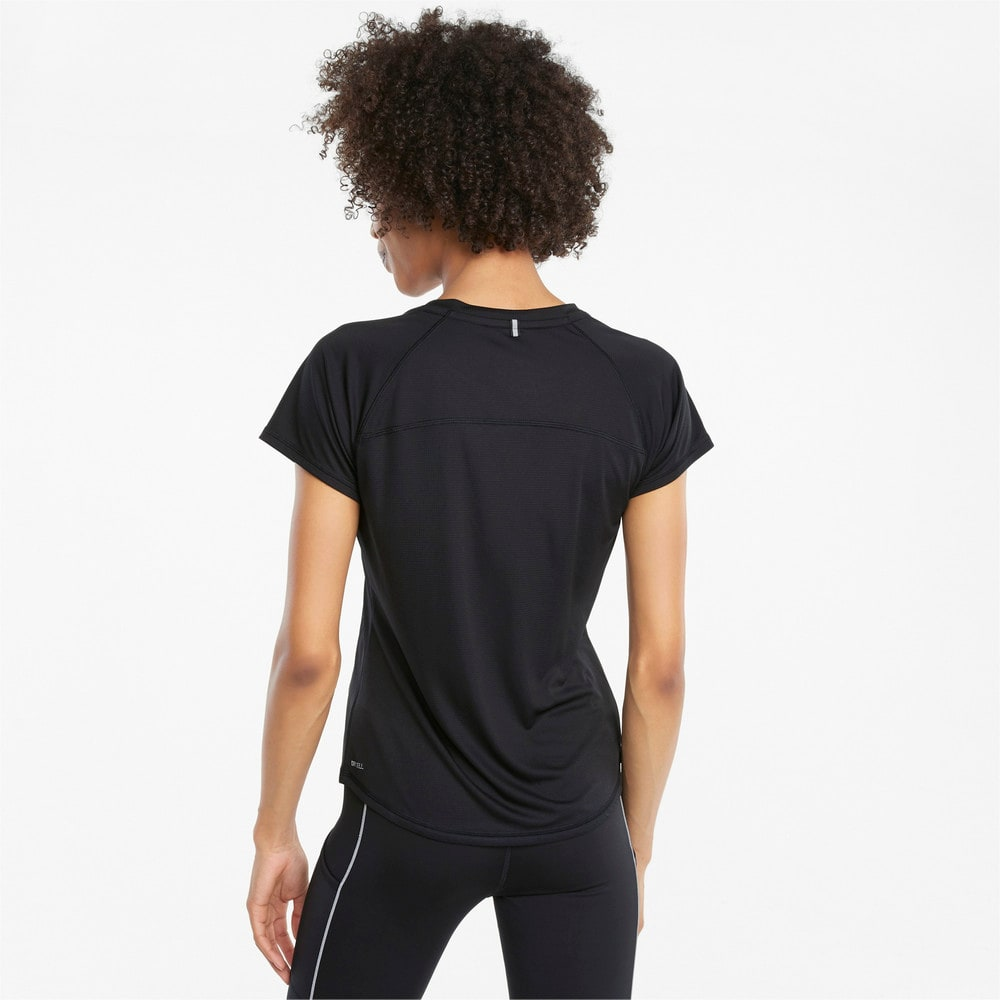 Изображение Puma Футболка Logo Short Sleeve Women's Running Tee #2