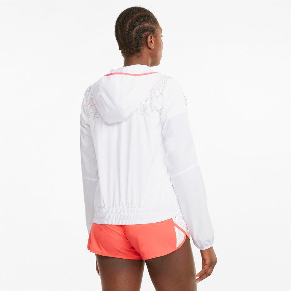 Изображение Puma Толстовка Graphic Hooded Women's Running Jacket #2