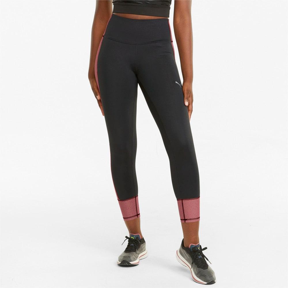 Изображение Puma Леггинсы Graphic 7/8 Women's Running Leggings #1
