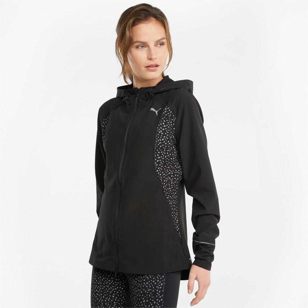 Зображення Puma Толстовка Woven Reflective Women's Running Jacket #1: Puma Black