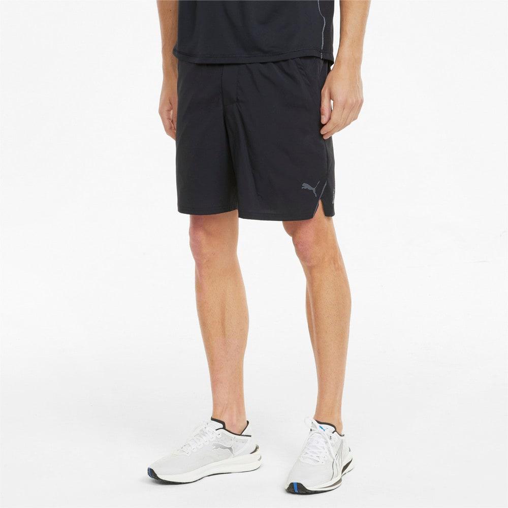Imagen PUMA Shorts de running de tejido plano y entrepierna de 18 cm para hombre #1