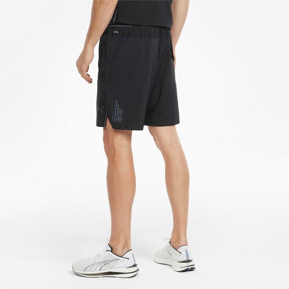 Imagen PUMA Shorts de running de tejido plano y entrepierna de 18 cm para hombre #2
