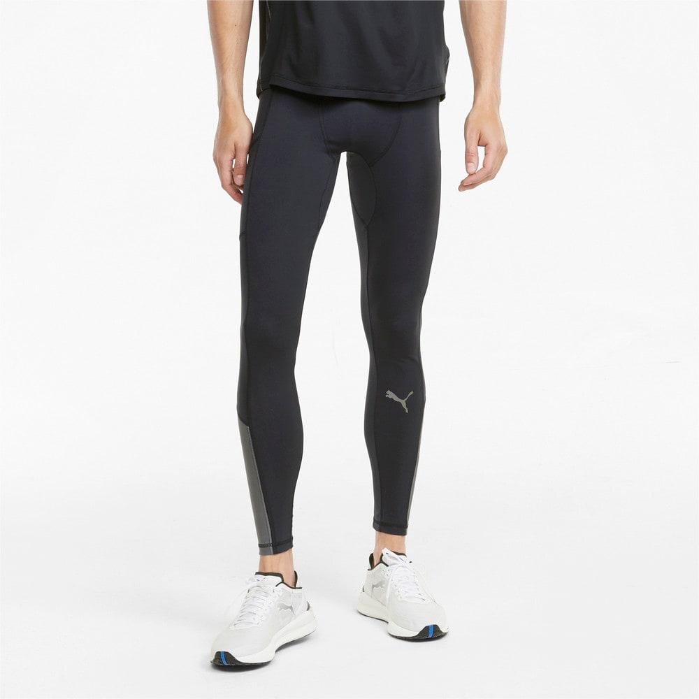Изображение Puma Леггинсы COOLADAPT Long Men's Running Tights #1: Puma Black-CASTLEROCK