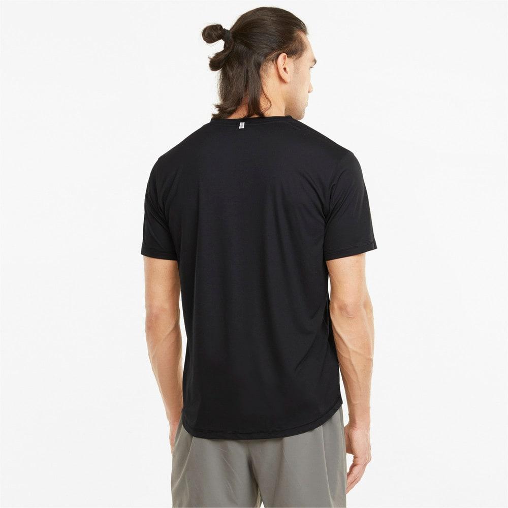 Зображення Puma Футболка Logo Short Sleeve Men's Running Tee #2: Puma Black