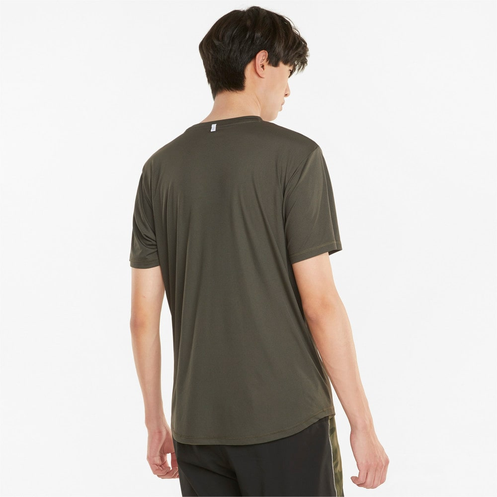 Изображение Puma Футболка Logo Short Sleeve Men's Running Tee #2: Grape Leaf