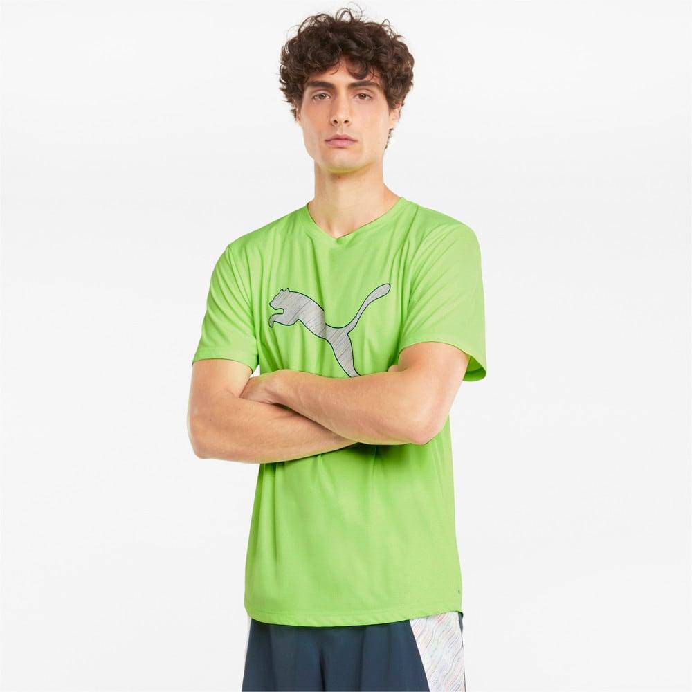 Зображення Puma Футболка Logo Short Sleeve Men's Running Tee #1