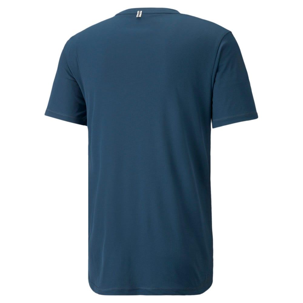 Зображення Puma Футболка Logo Short Sleeve Men's Running Tee #2: Intense Blue