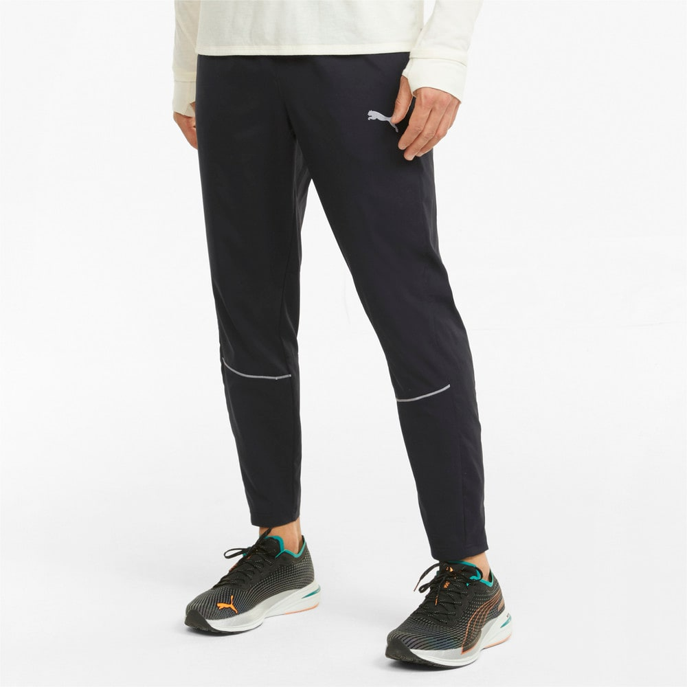 Зображення Puma Штани Tapered Men's Running Pants #1: Puma Black