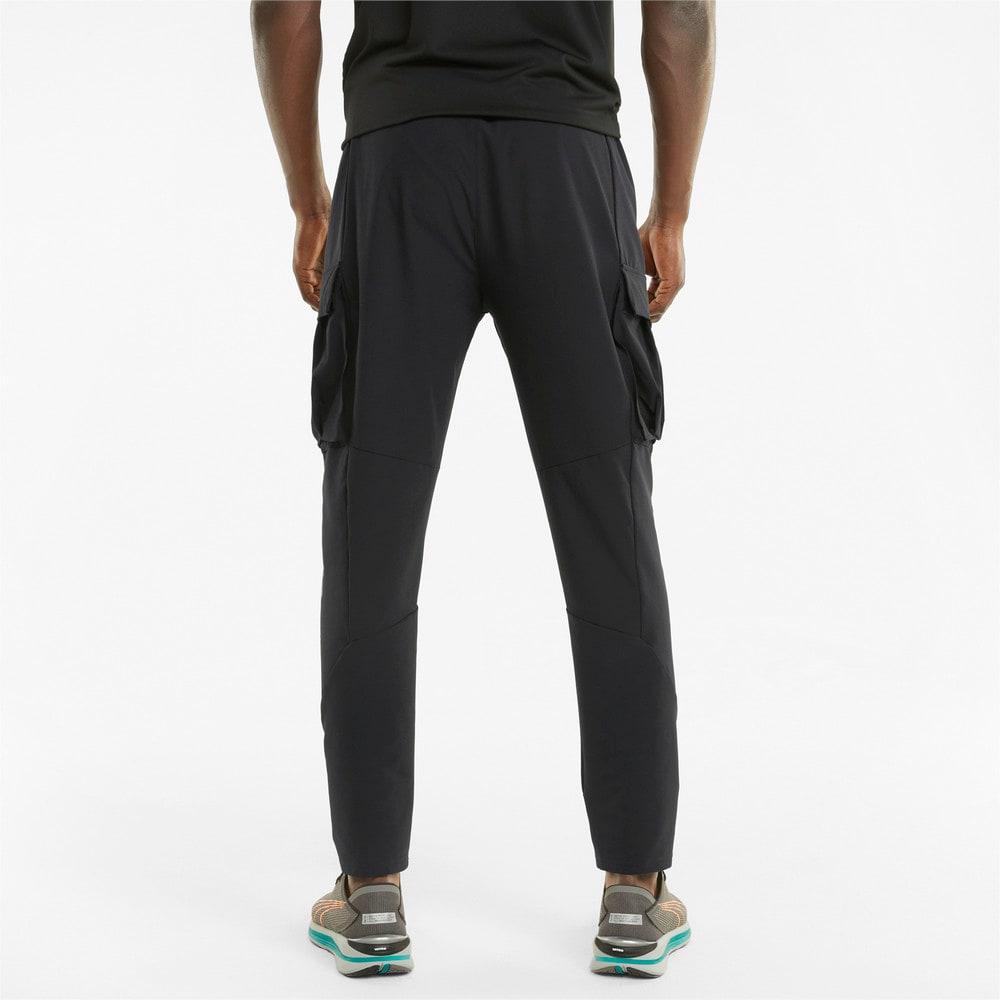 Зображення Puma Штани Woven Men's Running Cargo Pants #2: Puma Black