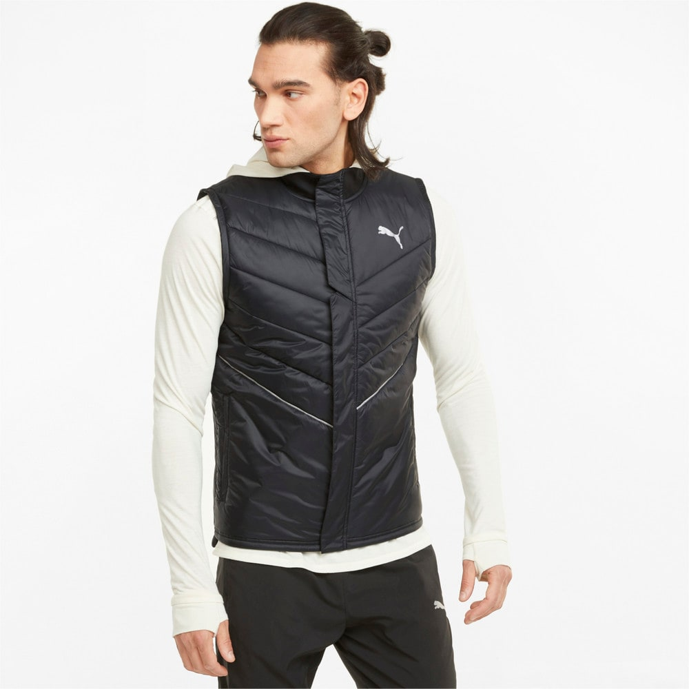 Изображение Puma Жилет Elevated Padded Men's Running Vest #1: Puma Black
