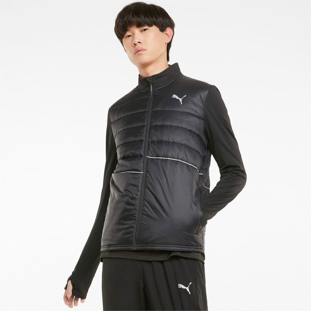 Изображение Puma Куртка Elevated Padded Men's Running Jacket #1: Puma Black
