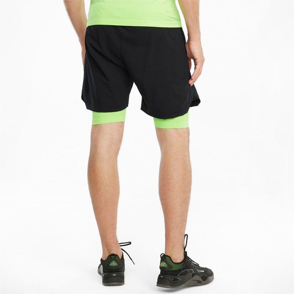 Imagen PUMA Shorts de training 2 en 1 con entrepierna de 13 cm para hombre EVOKNIT+ #2