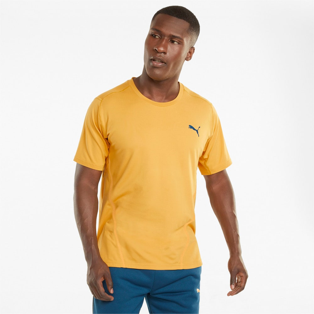 Зображення Puma Футболка CLOUDSPUN BND Short Sleeve Men's Training Tee #1: Mineral Yellow