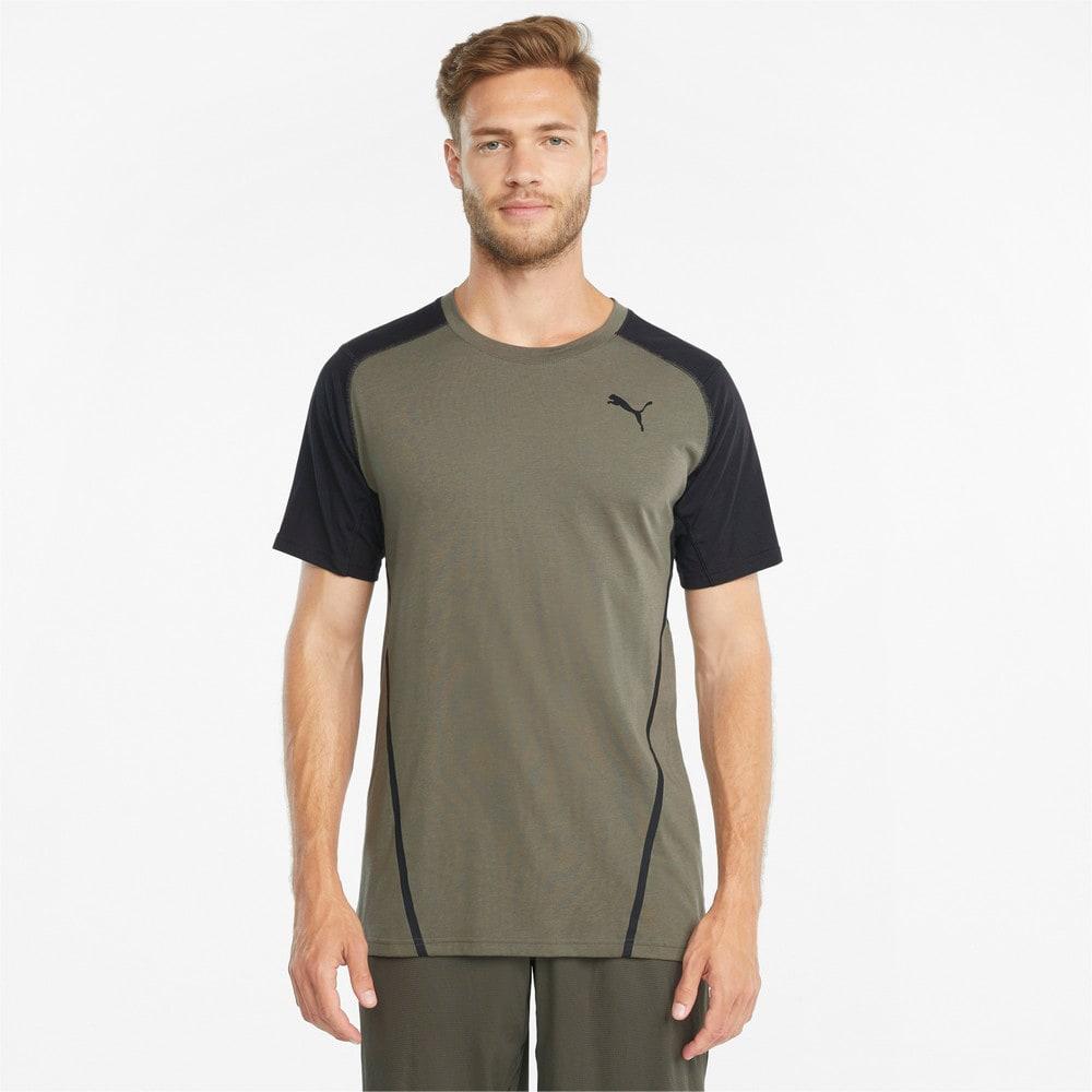Изображение Puma Футболка Vent Colourblocked Short Sleeve Men's Training Tee #1